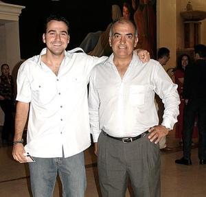<b>30 de mayo </b><p>  Vicente Sánchez Gavito y Rodolfo Zertuche.