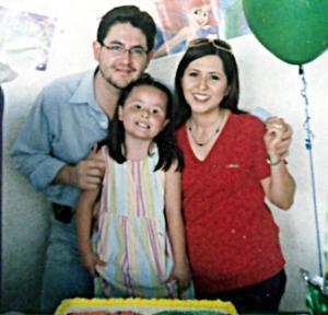 <b>29 de mayo </b><p>  Sofía Castilla Monárrez cumplió cinco años de vida y sus papás, Alberto Castilla y Martha Monárrez de Castilla la festejaron.