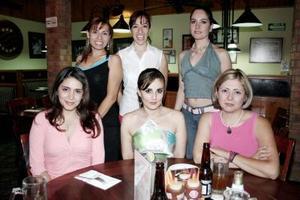 Aydeé Martell, Georgina Solorio, Karla Guerrero, Bety Padilla y Claudia Saldaña.