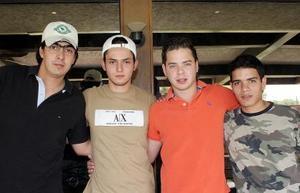 Alfonso Campa, Manuel Juan Marcos, Alejandro Madero y Carlos Nahle.