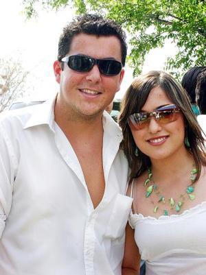 <b>31 de mayo </b><p> José Villarreal y Laura Zermeño.