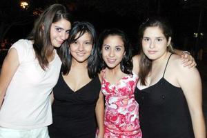 Isa Beuchot, Cristy Romero, Laura Luna y Karla Calderón.