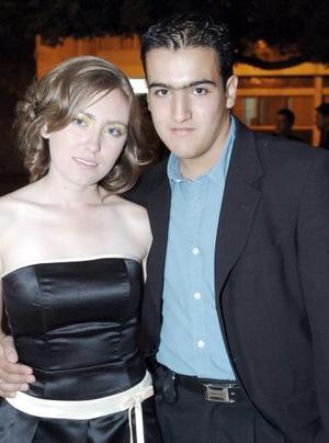 Danielle Billard y Julio Hernández.