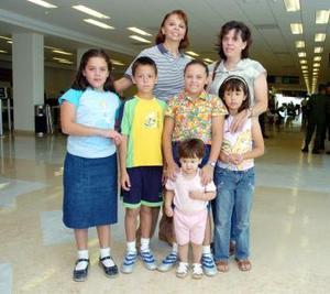 <b>01 de junio</b><p> Ana María, Fernanda, Dany, Marcela, Rodolfo, Cecilia, y Magdalena viajaron al DF.