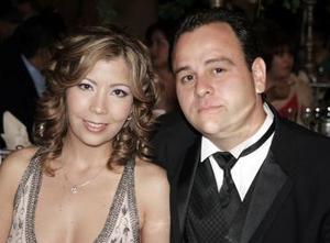 Alejandra Álvarez y Omar Fernández Batarse.
