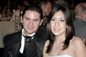 Bernardo Muñoz y Olga Ruiz Llaguno Valenzuela.