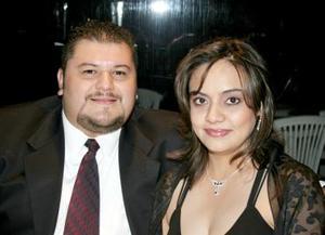 Ramiro Becerra y Diana Murra.