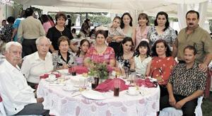 Familia Cadena y De Nigris.