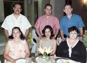 Daniel y Enriqueta Zavala, Alfonso y Araceli Casavantes y Elena Villarreal.