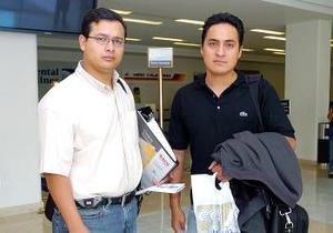 Joaquín Ledesma y Gabriel Fernández viajaron al Distrito Federal