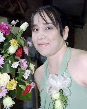 Karla Mónica Calderón Villarreal disfrutó de una despedida de soltera, que le ofrecieron por su próximo enlace con Gustavo López Ndrade