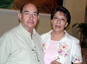Juan Zarzar y Bertha Méndez Zarzar.