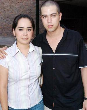 Ana Lobato y José Luis Villarreal.