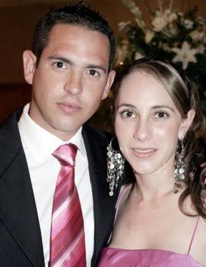 Pimpo Garza y Bárbara Berlanga.