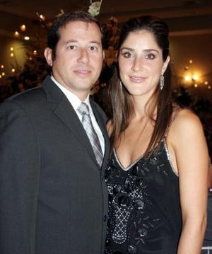 Rafael Tricio y Gabriela de Tricio.