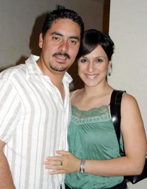 Rolando Vigné y Emilia Sanchez.