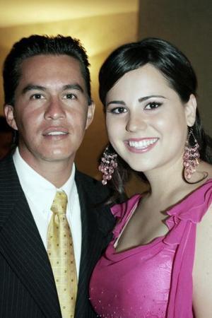 Alejandro Herrera y Any Ochoa.