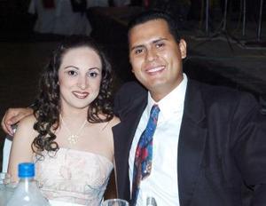 Anabel López y Carlos Galván.