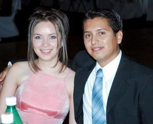 Anabel López y Carlos Galván