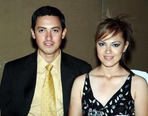 Fernando Balderas y Lorena de Balderas.
