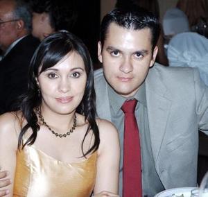 Miriam de González y Luis E. González Vázquez