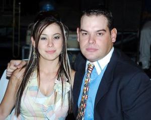 Paola Paz y Agustín Pérez