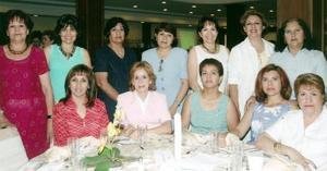 Leonor, Socorro, María Luisa, Lupita, Magaly, Mary Carmen, Silvia, Carmen, Vicky, Lupita, Queta y Araceli
