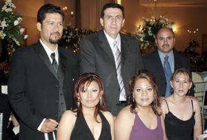 Fausto y Chelis García, Guillermo e Isabel Gutiérrez  e Ignacio y Lupita Nájera