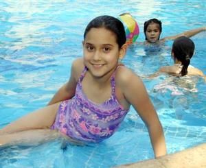 Ana Sofía Bollaín y Goytia cumplió diez años de edad.
