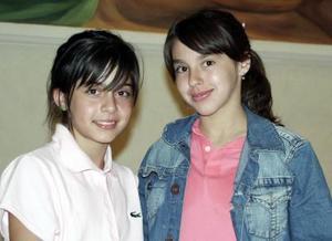Arlette Ortiz y Ana Cecy Franco