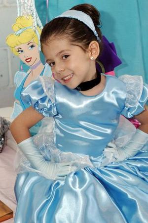 Clara Belem Díaz de León Barrios festejó sus cuatro años de vida, con una divertida fiesta infantil