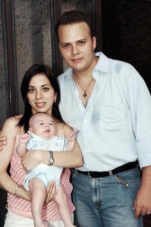 Genaro Torres, Ana Tere de Torres y Luis Genaro