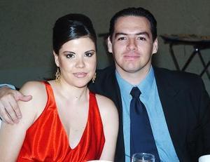 Ivette y Rafael García de Alba.