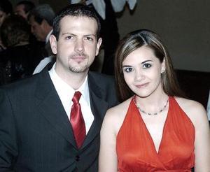 Alain de Alba y Georgina Gómez.