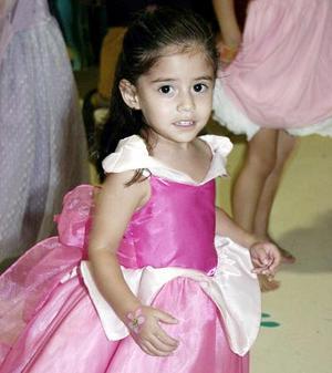 Renata Ganem festejó dos años de edad, hijita de Salavador y Angélica Ganem.
