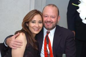 Sandra y Rodolfo Garza.