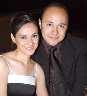 Lorena de Correa y Miguel Ángel Correa.