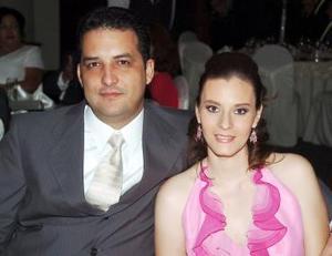 René Muñoz y Paty Muñoz.