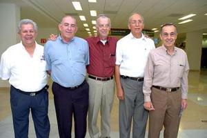 Celso Reyes, Félix López, Rogelio Sada, Raymundo Calvillo y Polen Callau viajaron a Nueva Orleáns.