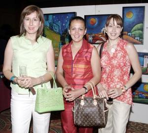 <b>10 junio </b><p> Yolanda Nogueira de Lugo, Elsa Claudia de Núñez y Emma Nogueira de Salazar.
