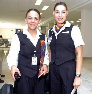 <b>10 de junio</b><p> Margarita Granados y Eliany Arias Viajaron con destino a la Ciudad de México.
