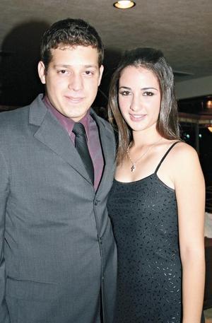 José Ganem y Marcela de la Garza