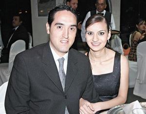 Jaaziel Gorostiaga Mourey y Soraya Jaidar de Gorostiaga
