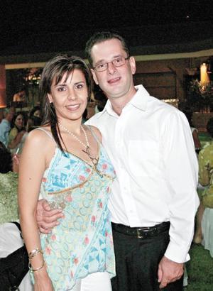 Padres del pequeño pablo: Ana Cristina García de Inzunza y José Pablo Inzunza Hernández