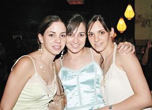 Ana Lorena García Martínez, Lucila Hernández de González y Laura de la Parra de Baca