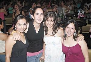 Marisol, Nadia, María Rosa y Sandra