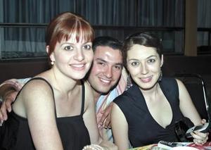 Lili Ferández, Beto Palacios y Margarita de Mery