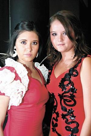Paulina Cárdenas y Sara cruz