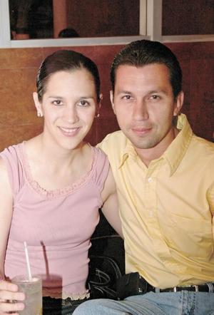 Maria Eugenia Cordoba y Juan Luis Carreón