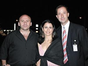 Antonio Leite, Sussen Balderas y Rene Fortoul